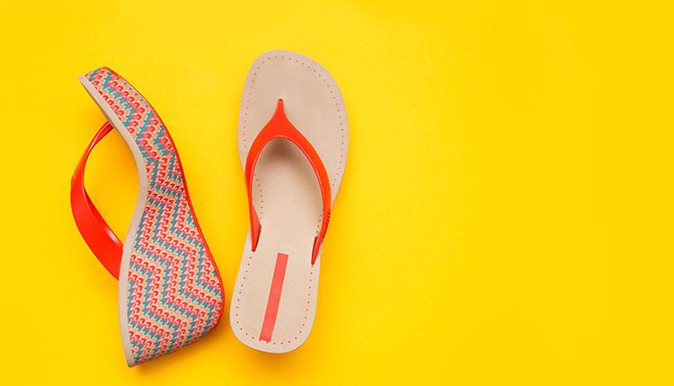 открытая обувь