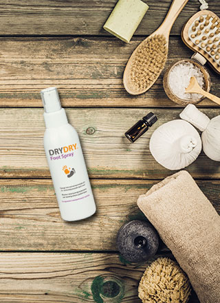 drydry foot spray
