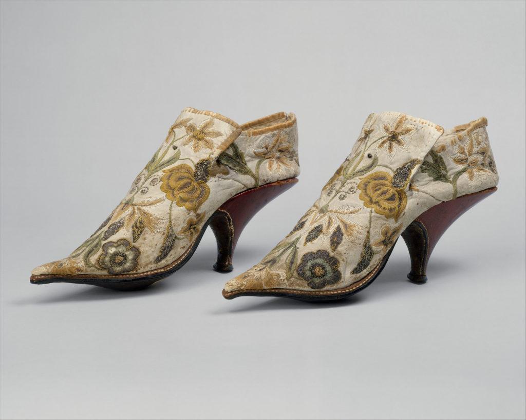 туфли женские 17 век