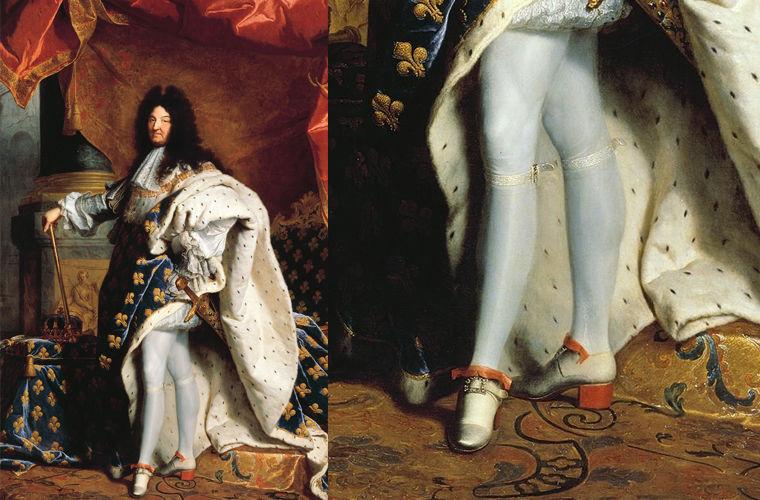 обувь Людовика XIV