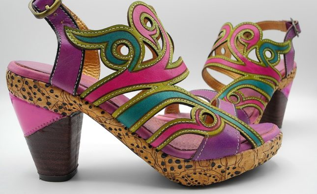 Как стала популярна обувь на высоком каблуке