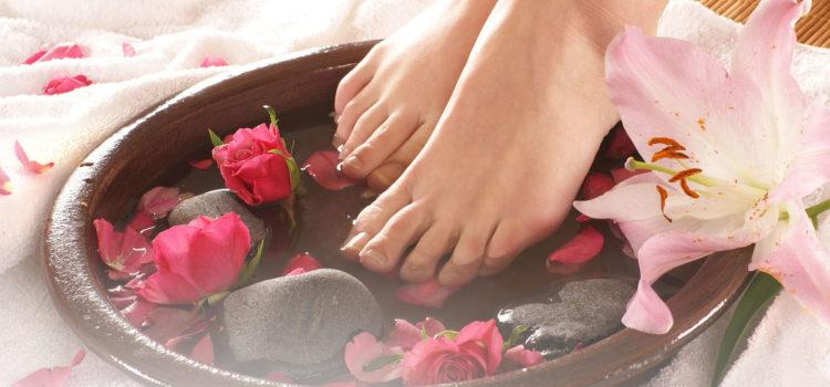 Вечерние ванночки для ног