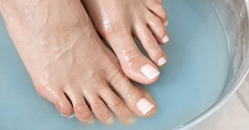 Достоинства пилинга для ног
