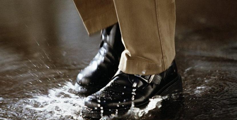 Что делать, если промокли ноги