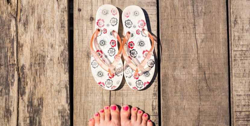 Опухшие ноги с первой жарой