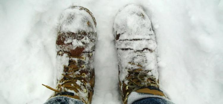 Уход за ногами в зимний период