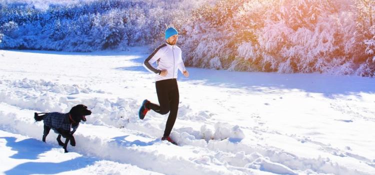 Бег зимой — памятка для спортсменов