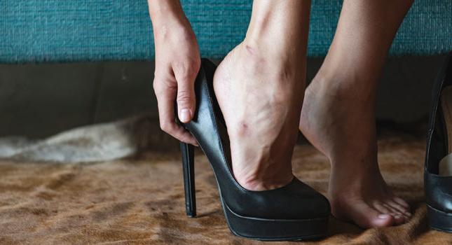 Как не натереть ноги в обуви?