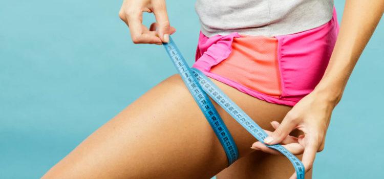 Диеты для похудения ног