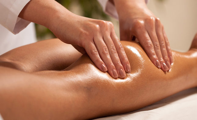 Лимфодренажный массаж от отечности ног
